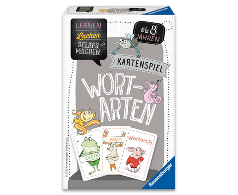 Ravensburger Kartenspiel Wortarten