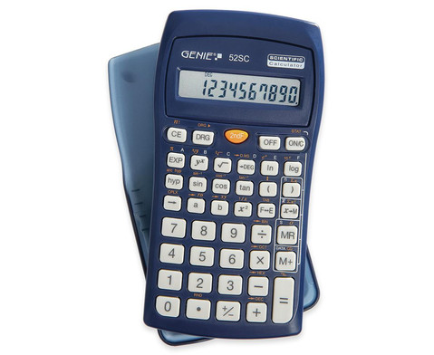 GENIE Wissenschaftlicher Schulrechner 52SC