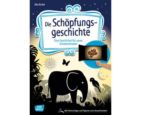 Die Schoepfungsgeschichte - Schattentheater-Set