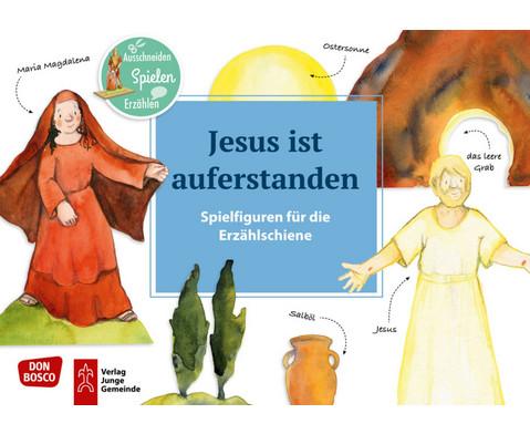 Jesus ist auferstanden Spielfiguren fuer die Erzaehlschiene