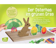Der Osterhas im grünen Gras - Figuren für die Erzählschiene