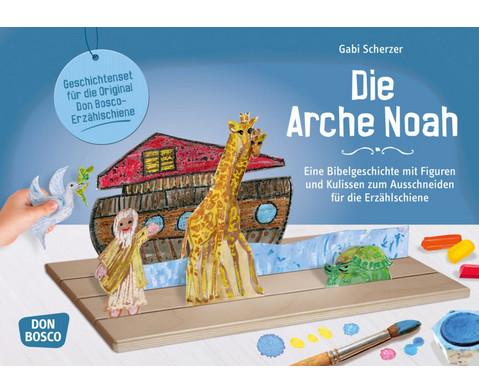 Die Arche Noah -  mit Figuren zum Ausschneiden fuer die Erzaehlschiene