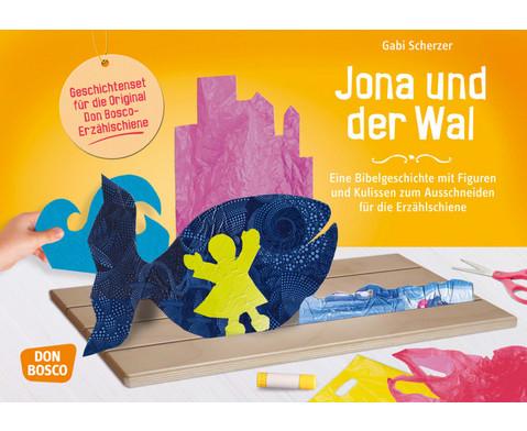 Jona und der Wal - Figuren fuer die Erzaehlschiene