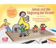 Jesus und die Segnung der Kinder - Figuren für die Erzählschiene