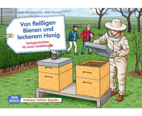 Bildkarten Von fleissigen Bienen und leckerem Honig