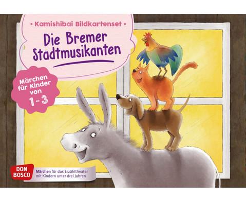 Bildkarten U3 Die Bremer Stadtmusikanten