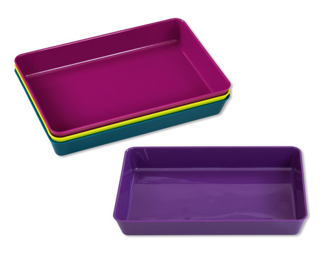 Materialschalen in modernen Farben 4 Stueck klein