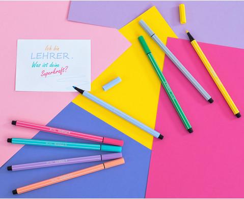 STABILO Pen 68 Pastellfarben - 8er-Etui-4