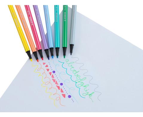 STABILO Pen 68 Pastellfarben - 8er-Etui-6
