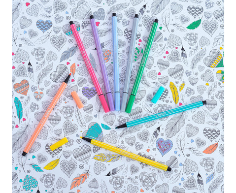 STABILO Pen 68 Pastellfarben - 8er-Etui-7