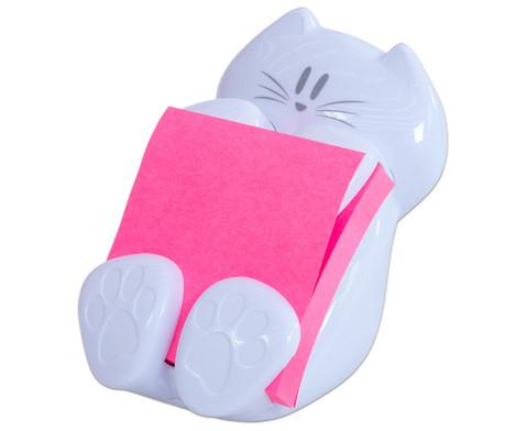 Post-it Spender fuer Super Sticky Z-Notes  Katze