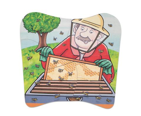Lagenpuzzle Honig