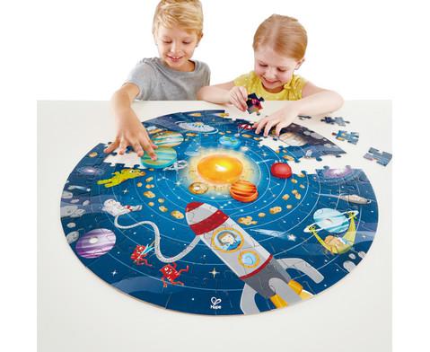 Puzzle Sonnensystem 102-teilig