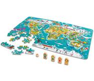 2 in 1 Weltreise - Puzzle und Spiel