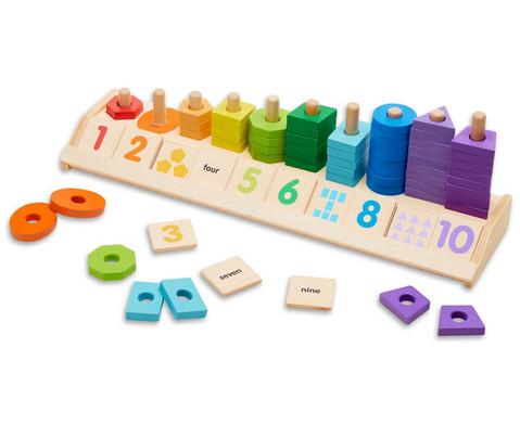 Holz-Zaehlstation Formen und Farben
