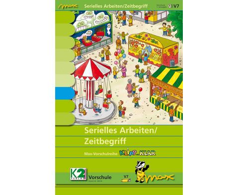 Max Lernkarten Serielles Arbeiten-Zeitbegriff