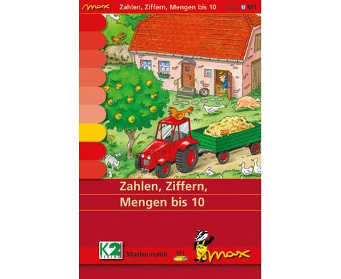 Max Lernkarten Zahlen Ziffern Mengen bis 10