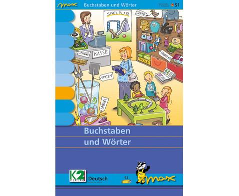 Max Lernkarten Buchstaben und Woerter
