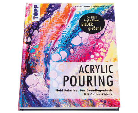 Acrylic Pouring Buch