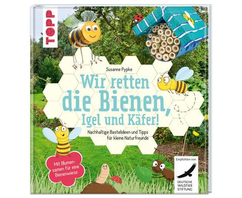 TOPP Wir retten die Bienen Igel und Kaefer