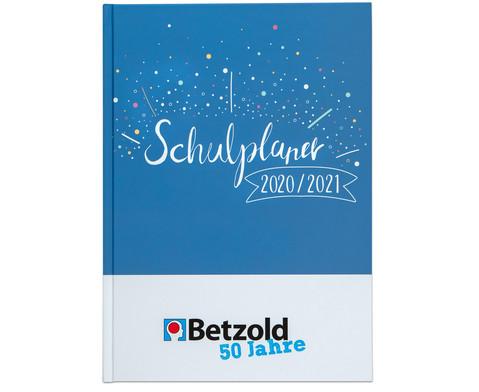 Betzold Jubilaeums-Design-Schulplaner DIN A4 plus 2020-2021