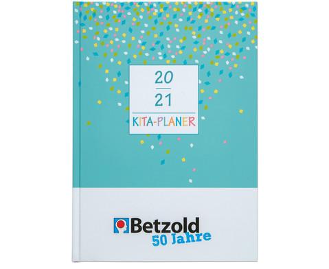 Betzold 50 Jahre Kita-Planer Hardcover DIN A4 plus 2020-2021