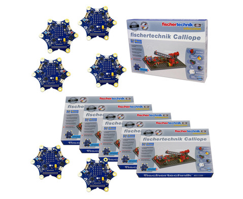 fischertechnik Klassen-Set Calliope 6 Stueck inkl Calliope 6 Stueck