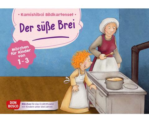 Der suesse Brei Kamishibai-Bildkartenset fuer U3
