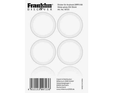 AnyBook Stickerbogen-Set extra gross fuer den Reader