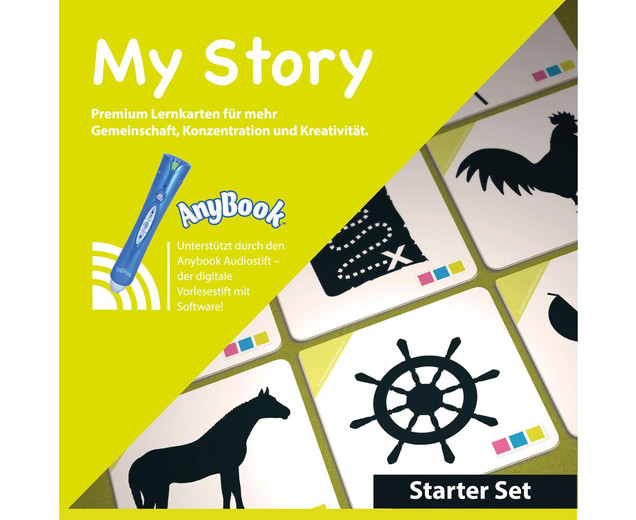 My Story - Starter-Set Anybook Reader mit Lernspielkarten