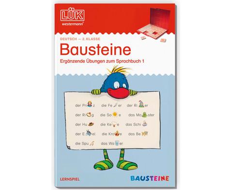 LUEK Bausteine - UEbungen zum Sprachbuch 1 fuer 2 Klasse