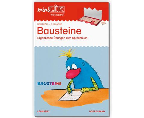 miniLUEK Bausteine Doppelband Deutsch 3 Klasse