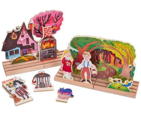Haensel und Gretel Holztheater
