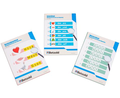 Betzold UEbungskarten fuer die Lese-Magnetbox