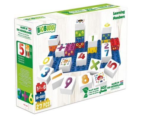 Biobuddi Zahlen oder Buchstaben lernen