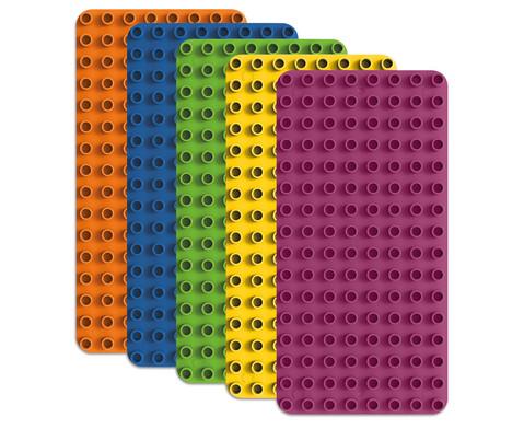 BiOBUDDi Bauplatten-Set 5-tlg