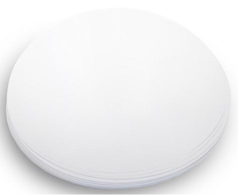 50 Blatt Papier 150g-m rund