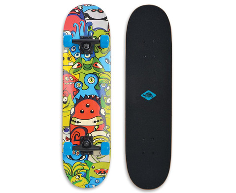 Skateboards - Schildkröt Skateboard Slider 31 Monsters - Onlineshop