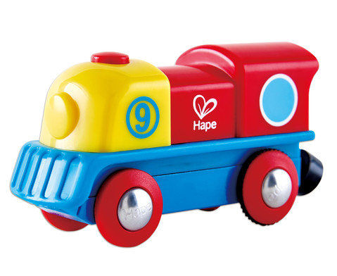 E-Lokomotive Holzeisenbahn
