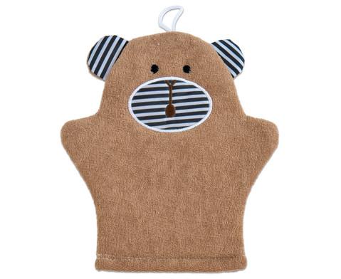 Waschhandschuh Teddy