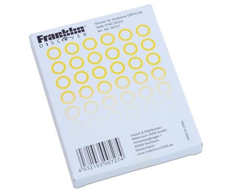 AnyBook Sticker Gelb 2160 Stueck