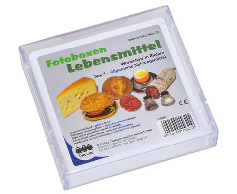 Fotobox Lebensmittel Allgemeine Nahrungsmittel
