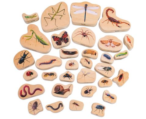 Krabbeltiere Set aus Holz