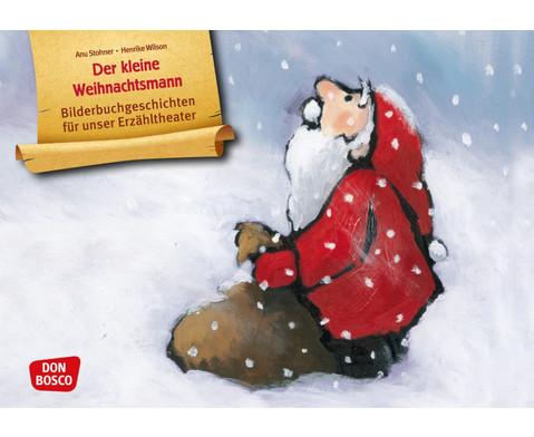 Der kleine Weihnachtsmann Kamishibai Bildkartenset