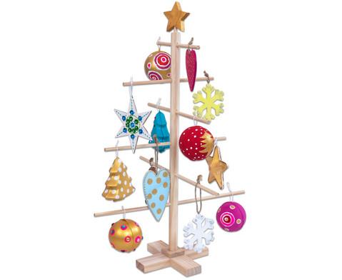Weihnachtsbaum zum Gestalten blanko
