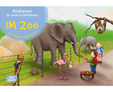 Im Zoo mit Emma und Paul Kamishibai Bildkartenset