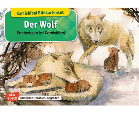 Der Wolf Kamishibai Bildkartenset