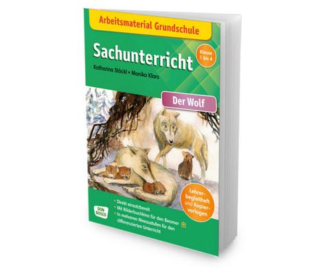 Arbeitsmaterial Grundschule Sachunterricht Der Wolf