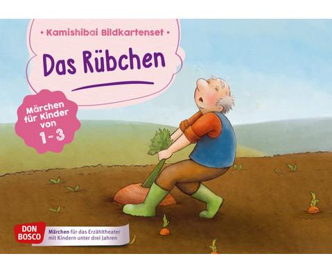 Das Ruebchen Kamishibai-Bildkartenset
