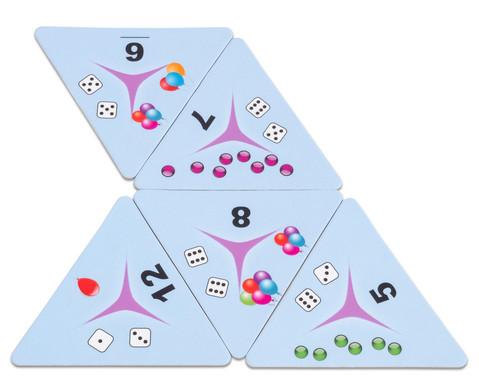 Tri-Domino Zaehlen bis 12